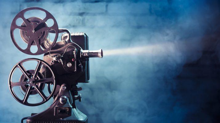 Dramatic movie projector