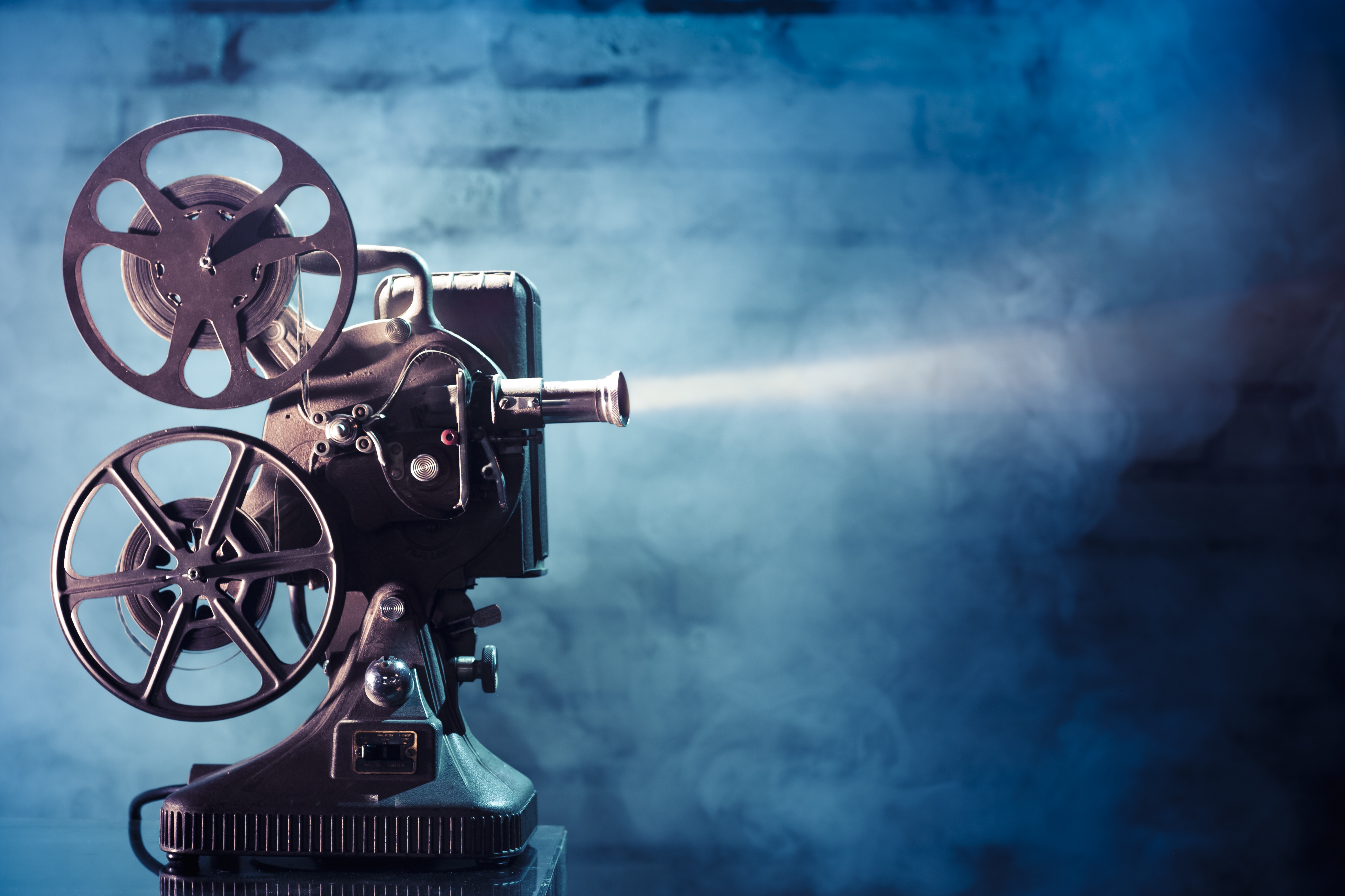 Dramatic movie projector