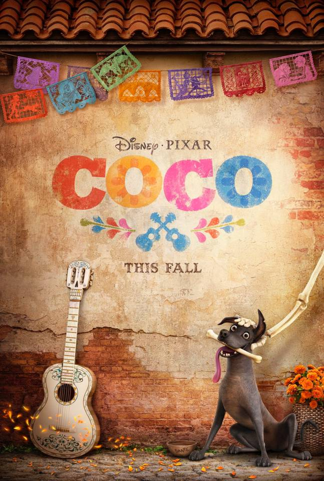 Coco Disney Pixar teaser poster