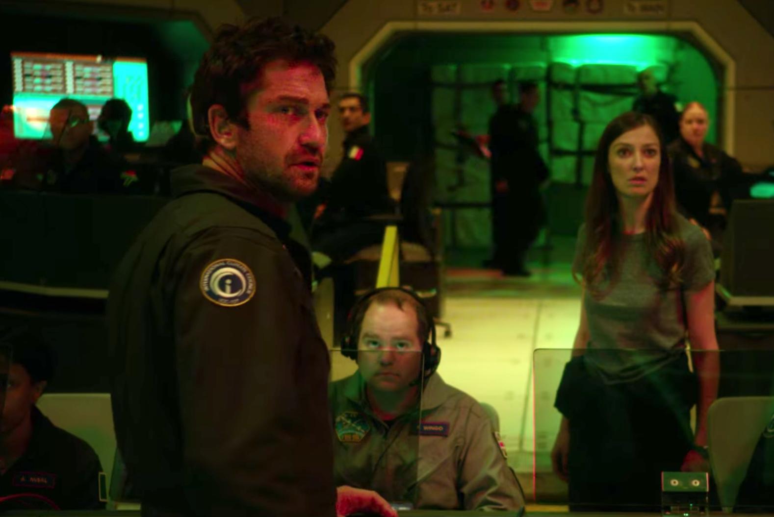 Gerard Butler in Geostorm trailer