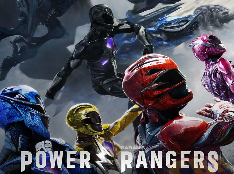 Power Rangers 2017 Movie Poster