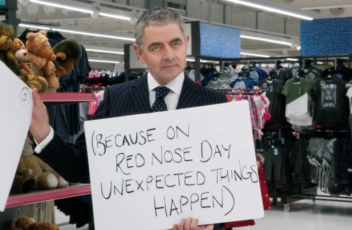 Red Nose Day Rowan Atkinson